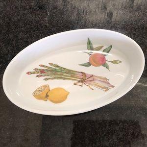 """Royal Worcester """"Evesham M"""" Oval Serving Dish"""
